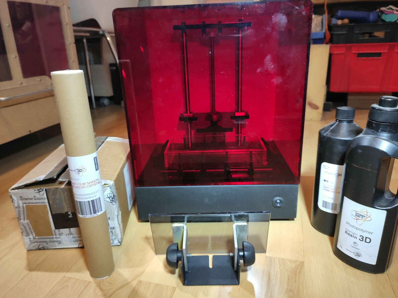 Imprimante 3d sla photocentric lc10 daylight resin