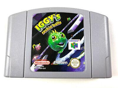 Iggy's Reckin' Balls - N64 Nintendo 64 PAL #22