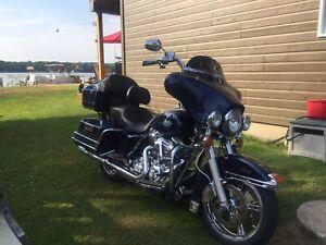 Harley davidson flh tc custom classique encore full garantie