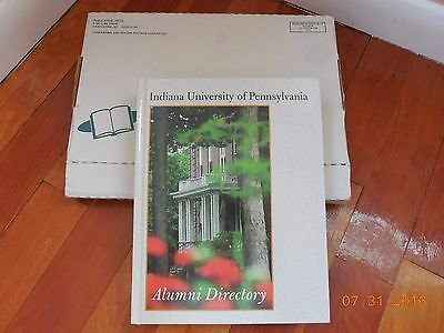 Indiana University of Pennsylvania ALUMNI DIRECTORY - 1998 IUP w/ Original Box ()