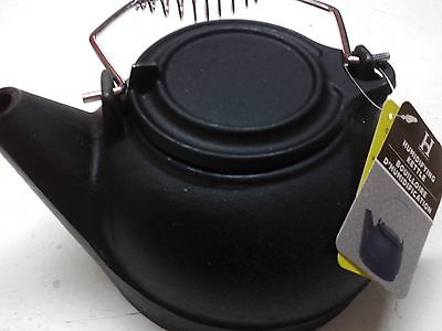 Cast Iron Tea Kettle. Fireplace humidifier  Wood Stove Humidifier 2.5 Qt. NEW
