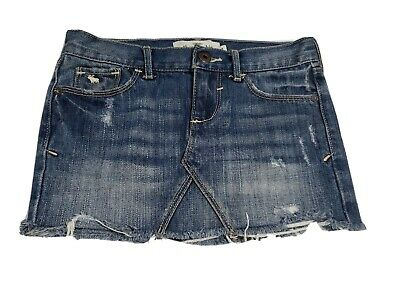 Abercrombie Kids Girls Jean Skirt Size 8 (274)