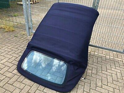 Orig. Mercedes CLK W208 A208 Cabrio Verdeck Dach Stoffdach Blau
