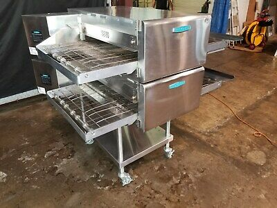 2015 Turbochef Hhc2620 Dbl Stack Electric Conveyor Pizza Ovens.....video Demo