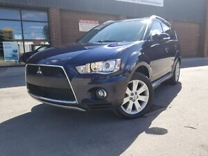 2010 Mitsubishi Outlander GT PKG LEATHER SUNROOF/ 7 PASENGERS AW