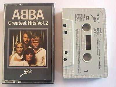 Abba :  'Greatest Hits Vol 2' Album - Cassette