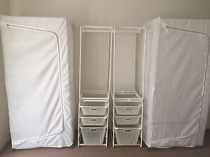 4 @ $60 Wardrobe and clothes rack Randwick Eastern Suburbs Preview