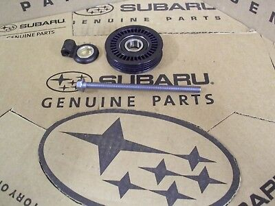 Genuine OEM Subaru Forester A/C Idler Pulley,Adj & Bolt 1997-2008 (73131FC000)