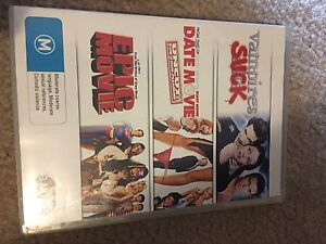 3 Set DVD - Vampires Suck, Date Movie & Epic Movie Valley Heights Blue Mountains Preview