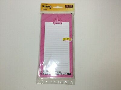 Post-it Super Sticky Notes 4 In X 8 In Princess Design 1 Pad 75 Sheets