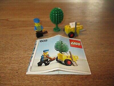 LEGO DENMARK-VINTAGE SET NO 605- PARK CITY SET -1970's.