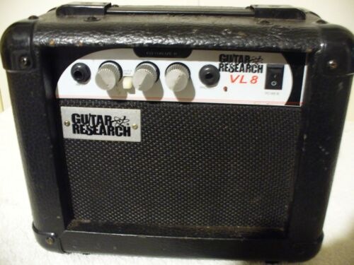 GUITAR RESEARCH MINI AMPLIFIER VL-8 BLACK STAGE WORKS USA SHIPPING LOOK!