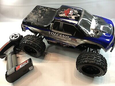 Redcat Racing Volcano EPX 1:10 Scale RC Monster Truck, Blue