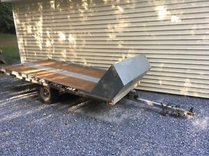 Single Snowmobile/Atv/Utility Trailer