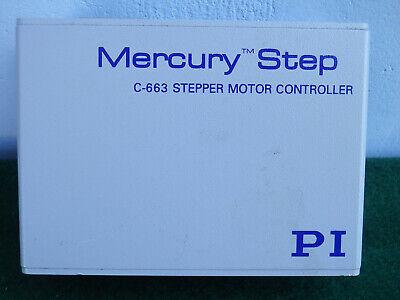 Pi Mercury Step C-663 Stepper Motor Controller