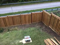 Pressure Treated Fence Installer $35/FT Labour Only