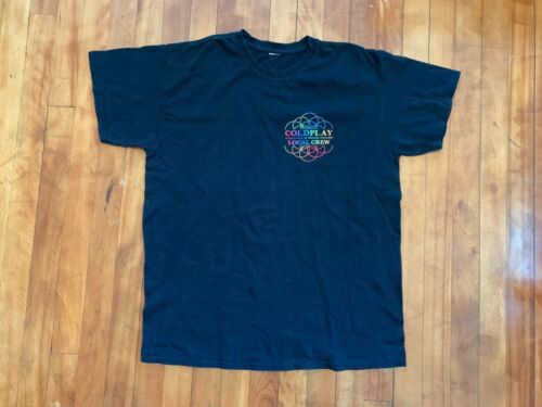 Coldplay 2017 A Head Full Of Dreams Tour Local Crew Shirt