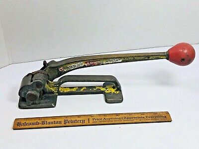 Signode Brass Tensioner Model T Steel Strapping Banding Machine Size 58-34