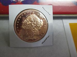 1 zombucks Morgue Anne morgan dollar 1 oz copper round apocalypse zombie coin