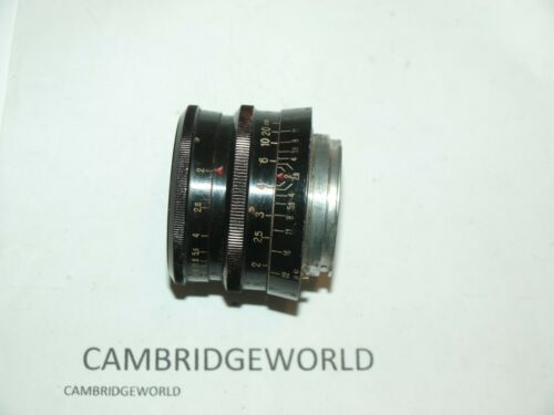 Carl Zeiss Biotar BLACK 58mm f2 normal PRIME lens for Exakta camera GERMAN MADE
