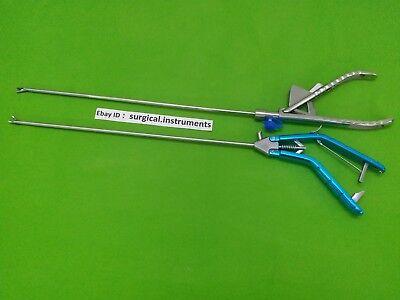 2 Pc Needle Holder 5mmx330mm Laparoscopic Endoscopy Surgical Instruments
