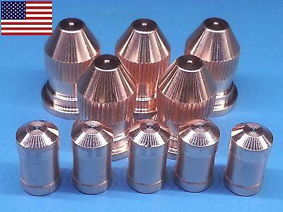 10pc X 21150 Electrode 21330 Nozzle 50a - Esab Pt-20 Plasma Cutter Us Ship