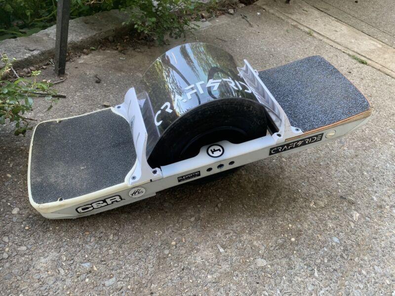 OneWheel XR Flight Fins Fender Compatible Polycarbonate Flight Shield by DMNY