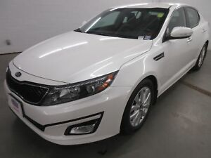 2015 Kia Optima EX- BACK-UP CAM! HEATED SEATS! LEATHER INTERIOR!