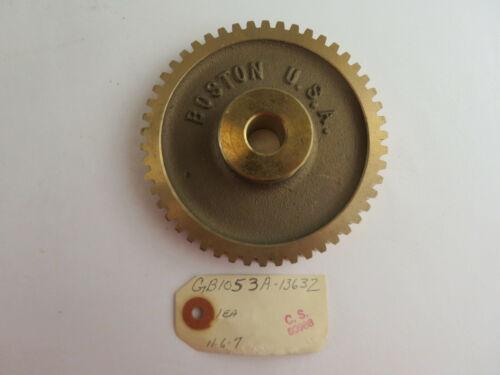 NEW BOSTON GEAR GB1053A WORM GEAR 50 TEETH GB-1053-A