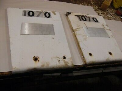 1974 Case 1070 Farm Tractor Grill Panels