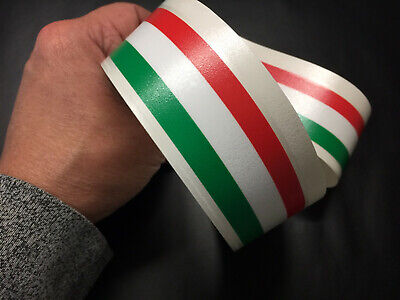 Italian Sticker Style Scooter Stripes Vespa Self Adhesive Vinyl  Decal 002