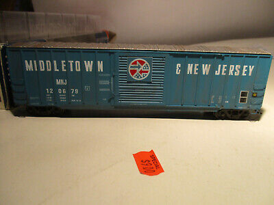 - Branchline Blueprint  Middletown & New Jersey 50' Berwick Box Car Rd # 120679
