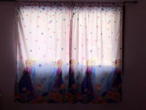 Curtains in brand new condition