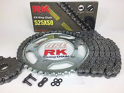 1988-91 Honda NT650 Hawk RK xso 525 Quick Acceleration Chain and Sprocket Kit