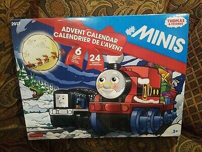 Thomas & Friends TRAINS Advent Calendar 24 Trains 6 exclusives *BRAND NEW*