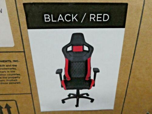 CORSAIR CF-9010013-WWW GAMING CHAIR T1 RACE BLACK/RED BRAND NEW!!