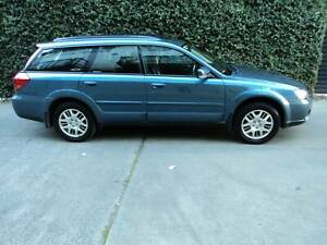 2003 Subaru Outback 2.5i LUXURY Manual SUV 2.5L Collingwood Yarra Area Preview