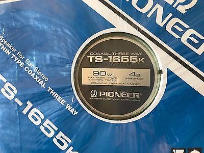 Pioneer TS-1655k 90W car speakers factory sealed NOS vintage 1983 kp kpx cdx