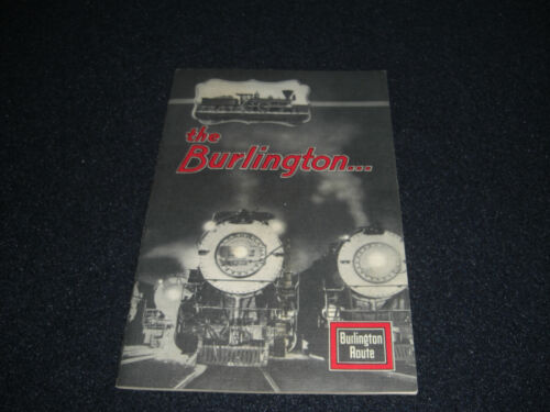 Burlington Railroad Booklet from the 1933 World
