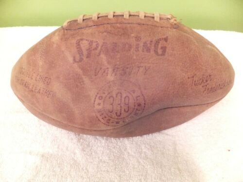 Vintage - Spalding Varsity 339 Leather - Tucker Fredrickson Football
