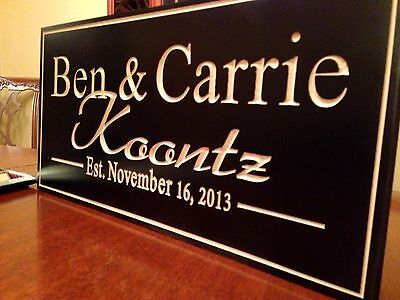 Personalized Sign, Custom Wood Sign, Custom Wood Engraving, Plaque