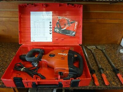 Hilti Te 706 Corded Heavy Duty Demolition Hammer Power Tool W Hard Carry Case