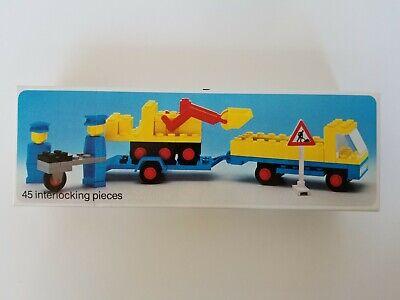 Lego 492 Vintage Truck & Payloader - 1970's - Brand New, NISB, NIB - Nice!
