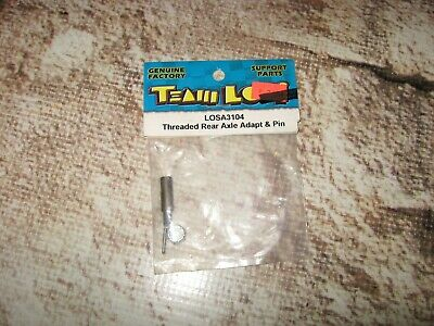 Vintage RC Losi XXXNT Threaded Rear Axle Adapter & Pin Set (1) 3104