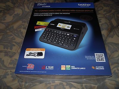 Brother Label Maker With Color Display Brand New