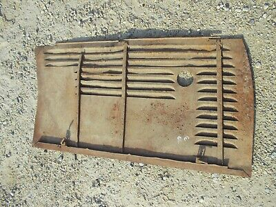 Oliver 70 Tractor Factory Original Front Engine Side Cover Curtain Left Panel