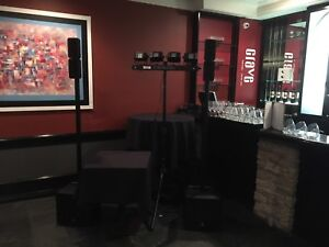 Yorkville EXM400 active self powered Pa or Dj speakers