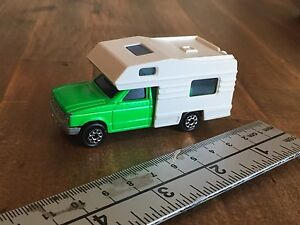 Majorette - Camping Car - Pickup Truck with Camper