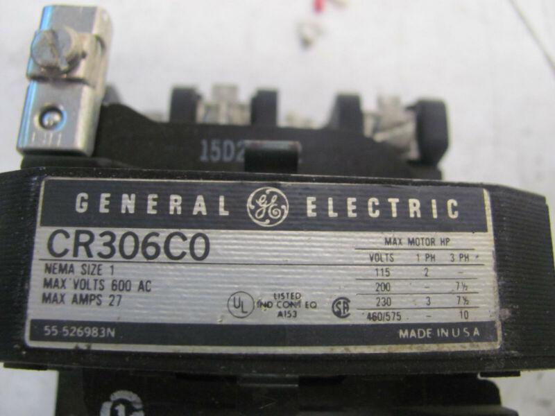 General-electric-starter-cr306c0----nema-size-1