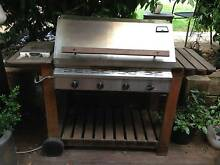 Natural Gas 4 Burner BBQ Colo Vale Bowral Area Preview